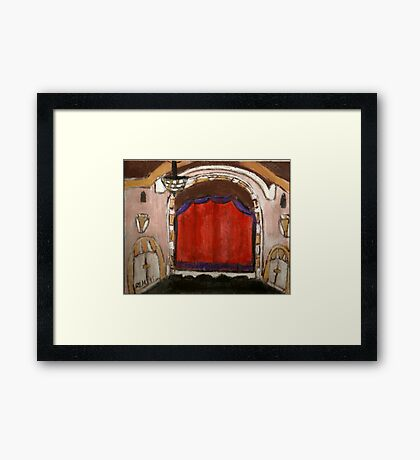 On Broadway(The Golden Theatre-NYC) Framed Print