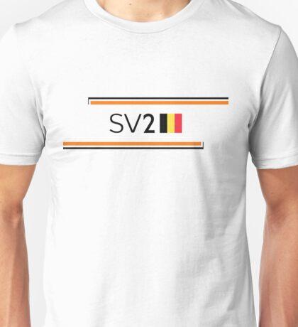 F1 2017 - #2 Vandoorne [alt version] Unisex T-Shirt