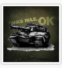 Tanks Rule, OK Sticker