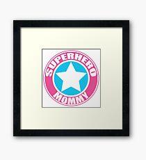 Superhero Mommy Framed Print