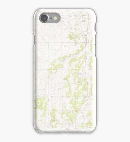 USGS TOPO Map Colorado CO Elbert 450112 1970 24000 iPhone Case/Skin