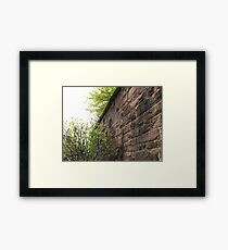 Sixth Street Embankment, Former Pennsylvania Railroad Embankment, Jersey City, New Jersey  Framed Print