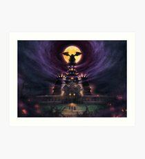Magus Castle  Art Print