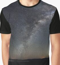 360 Degree Panorama of the Milky Way and Very Large Telescope, Chile Graphic T-Shirt