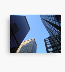 Surrounded by New York City Canvas Print