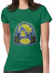 King Gizzard and The Lizard Wizard - Flying Microtonal Banana Vector Womens Fitted T-Shirt