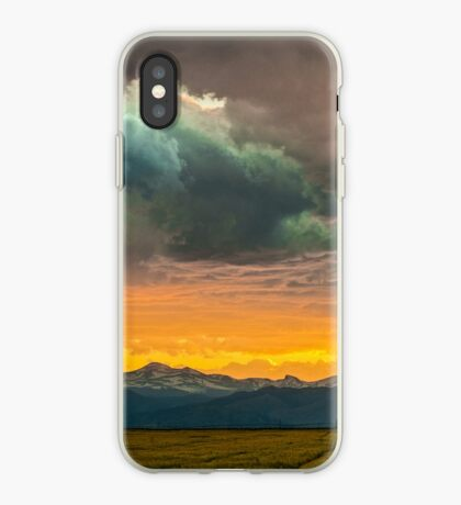 Powers of Sunset iPhone Case