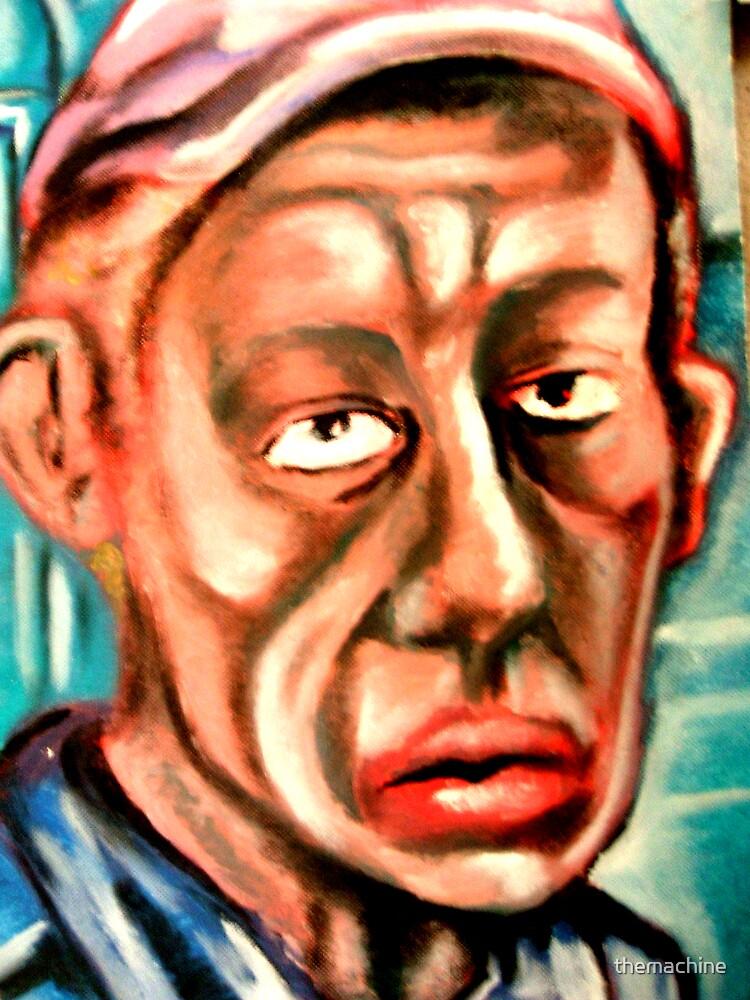 Self Portrait #1 by themachine