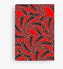 Abstract oriental ornament Canvas Print