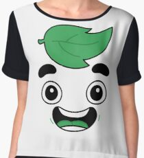 guava juice logo shirt t-shirt Chiffon Top