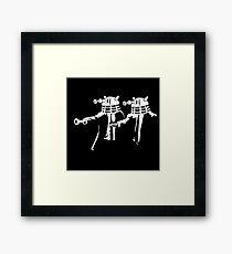 Dalek Fiction  Framed Print