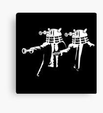 Dalek Fiction  Canvas Print
