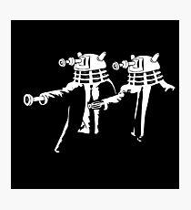 Dalek Fiction  Photographic Print