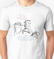 Abraham Lincoln Picture Quote - The Nation T-Shirt