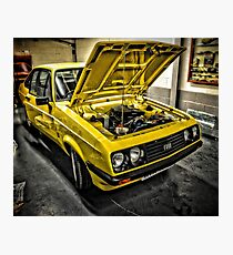 Ford escort rs 2000 Photographic Print