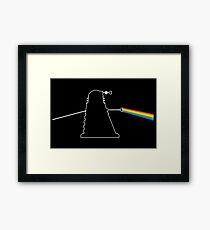 The Dark Side Of The Dalek Framed Print