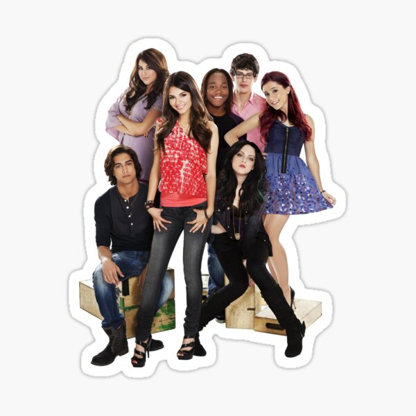 Victorious Cast Sticker