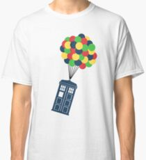 The Police Box on the sky... Classic T-Shirt