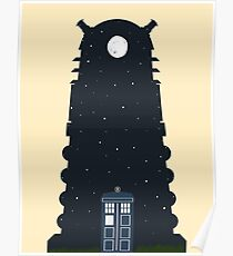 The Police box on the night... Poster
