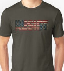 'RESIST' USA Protest Flag  Unisex T-Shirt