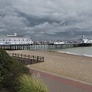Eastbourne Pier, Sussex by wiggyofipswich