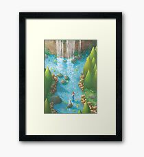 Dawn of Adventure : Holy Sword  Framed Print