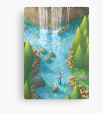 Dawn of Adventure : Holy Sword  Canvas Print