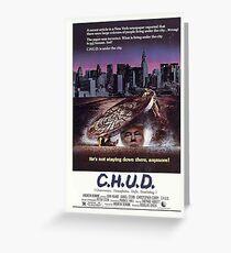 Donald C.H.U.D. Poster Greeting Card