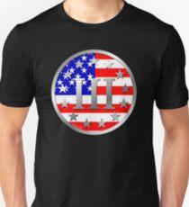 III% - 3 Percent - 3 Percenter Unisex T-Shirt