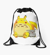studio ghibli Drawstring Bag