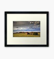 Outback Ruin Framed Print