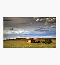 Outback Ruin Photographic Print