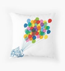 Up there - Up Throw Pillow