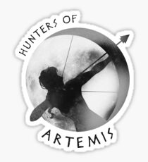 Hunters of Artemis (Dark) Sticker