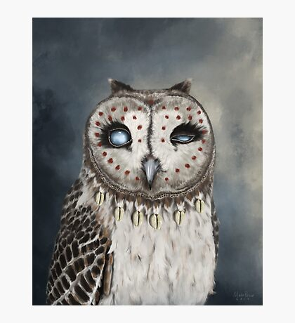 The Seer Owl Photographic Print