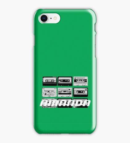 Amanda: Cassette Tapes iPhone Case/Skin