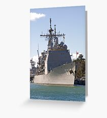 USS Cowpens Greeting Card
