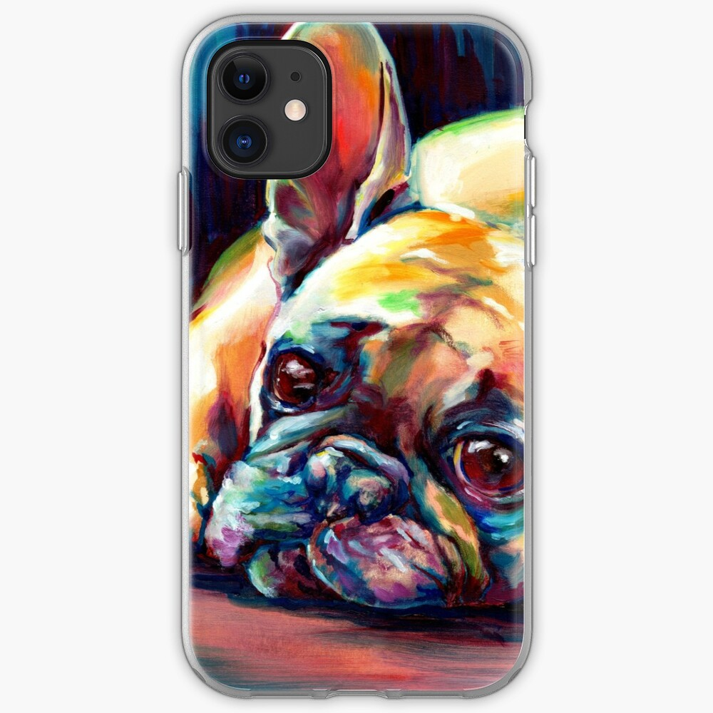 Heartbeat French Bulldog iphone 11 case