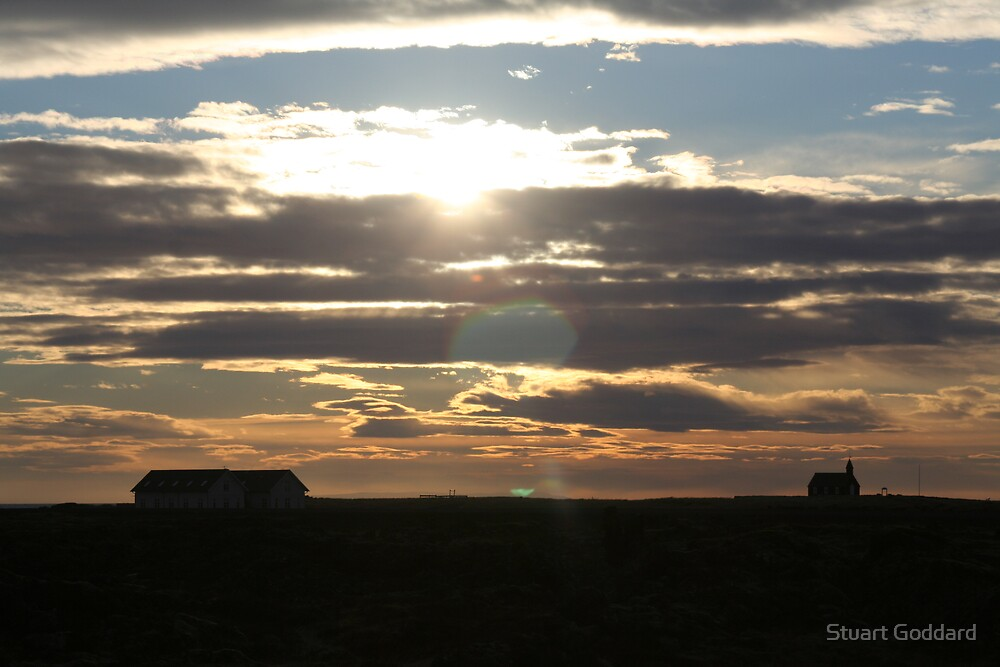 Iceland Sunset by Stuart Goddard