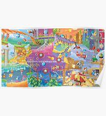 Sonic 2 Fresco  Poster
