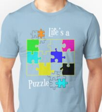 Life's a Puzzle Slim Fit T-Shirt