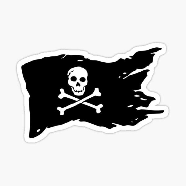 Piratenflagge Sticker