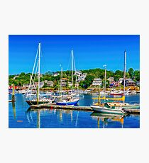 Summer Day at Gloucester Photographic Print