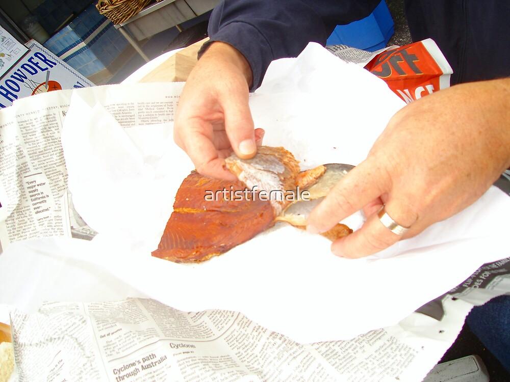 Smoked Salmon by artistfemale