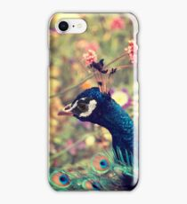 Peacock Flowers iPhone Case/Skin