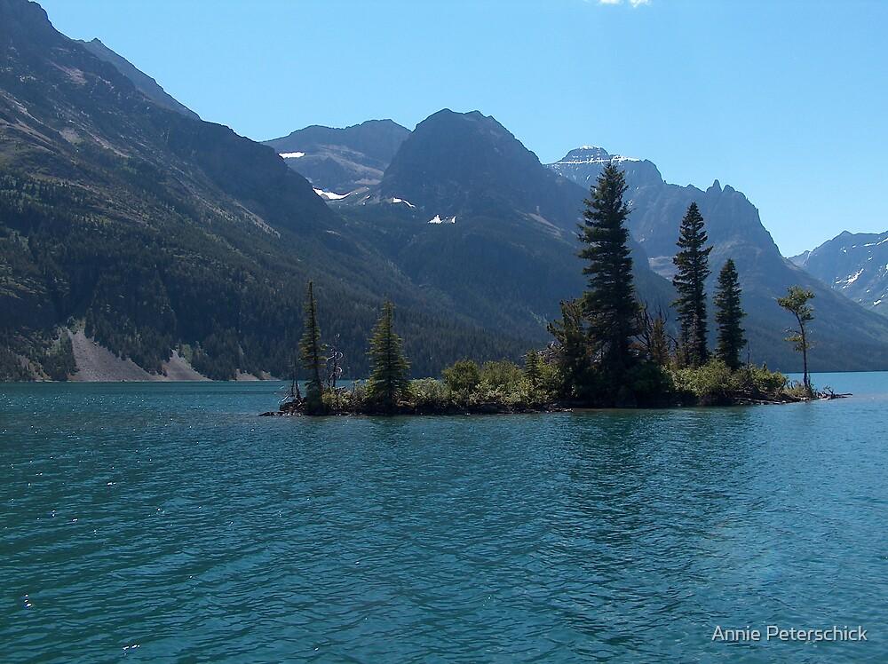 Wild Goose Island Glacier National Park by Annie Peterschick