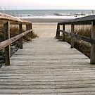 Beach Walk by Gary L   Suddath