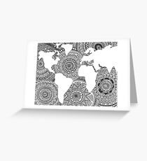 Original World Design Greeting Card