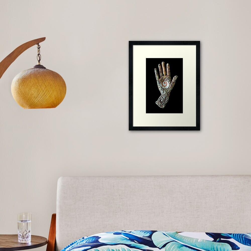 Helix _ Framed Art Print