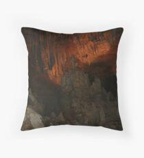 stalactites Throw Pillow